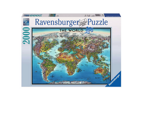 World Map - 2000 Piece