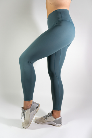 Alice High Waisted Leggings - Teal