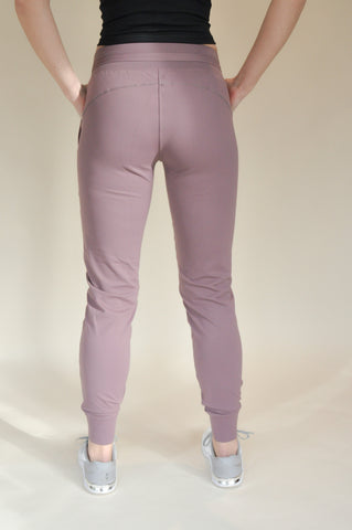 Laura Super Comfy Joggers - Dusty Pink