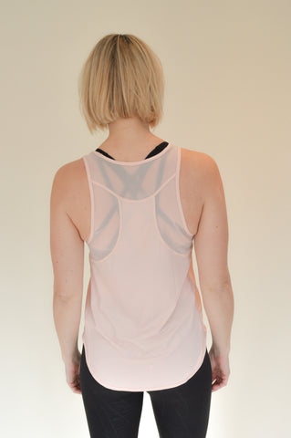 Louise Tank Top - Pale Pink