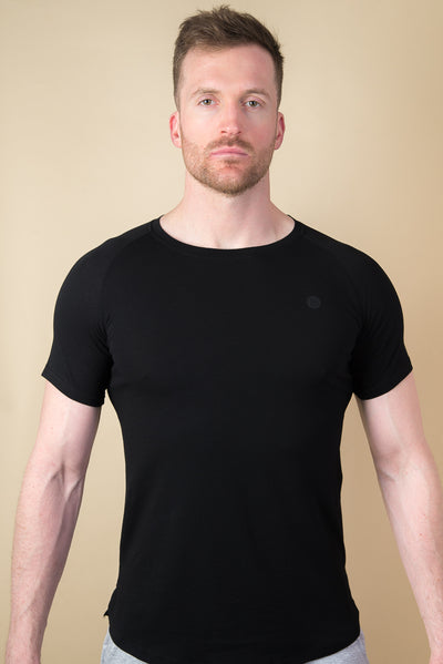 Baynes Muscle Fit Tshirt - Black