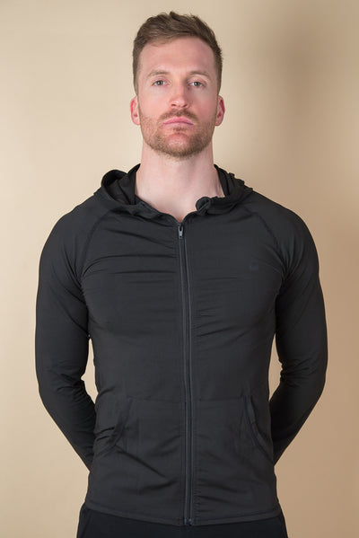 Marshall Quick-Dry Running Jacket - Black