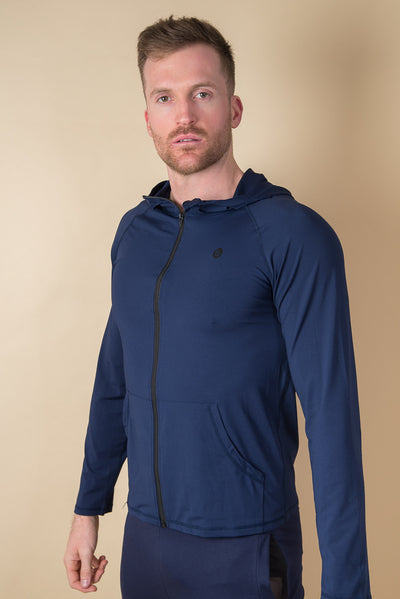 Marshall Quick-Dry Running Jacket - Navy