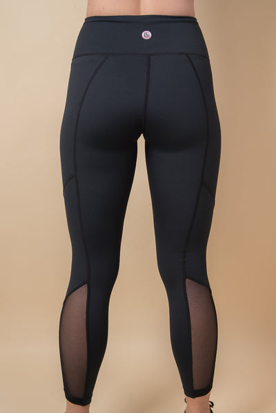 Anna Ultra-High Waisted Leggings - Black