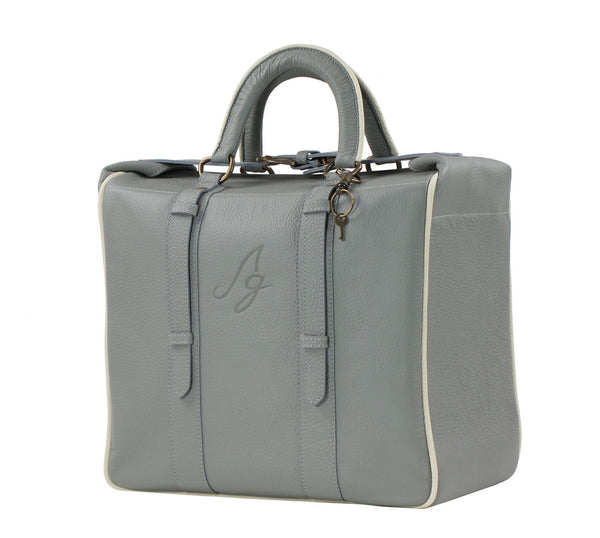 Stella Briefcase Tote - Grey