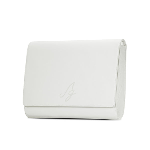 Business Clutch - White