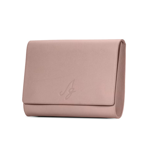 Business Clutch - Dusty Rose