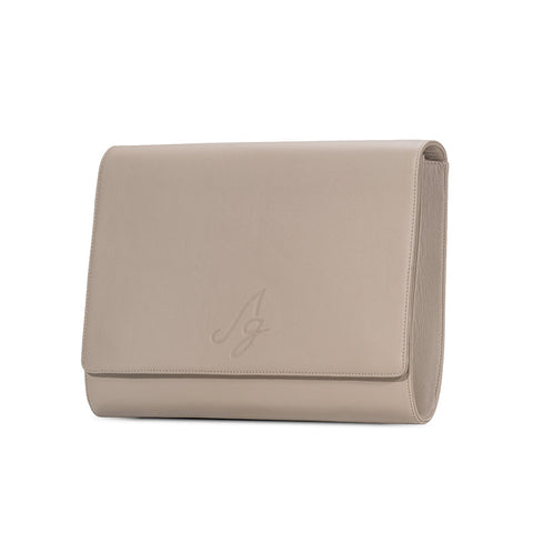 Business clutch -Taupe