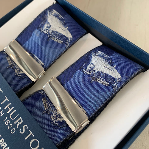 Albert Thurston Limited Edition Braces - Vintage Car