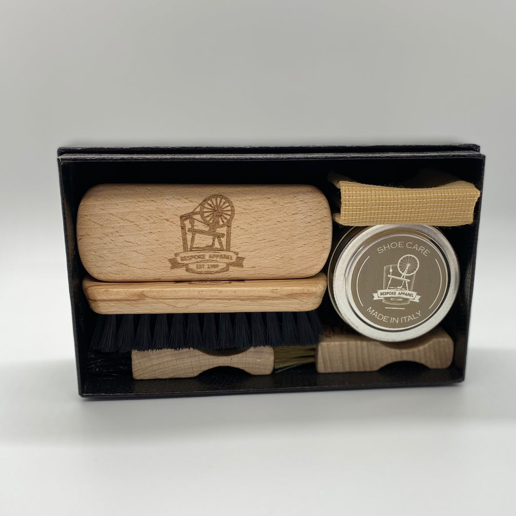Bespoke Apparel Shoe Care Kit