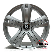 "Load image into Gallery viewer, BENTLEY CONTINENTAL GT GTC 2012-2014 20"" FACTORY ORIGINAL WHEEL RIM WITH CENTER CAP"