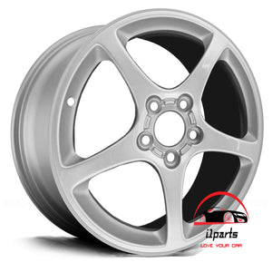 "CHEVROLET CORVETTE 2003 18"" FACTORY  ORIGINAL WHEEL RIM REAR"