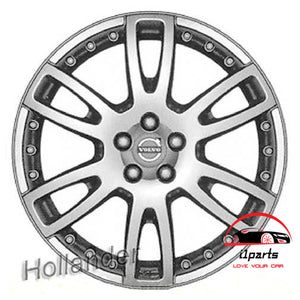 "VOLVO 60 SERIES XC60 2009 2010 19"" FACTORY ORIGINAL WHEEL RIM ""ACHILLES"""