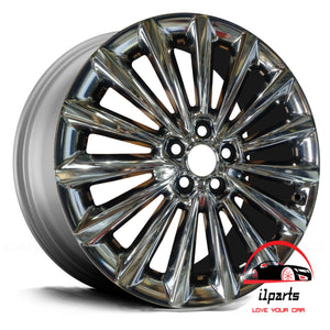 "KIA K900 2016 2017 19"" FACTORY ORIGINAL REAR WHEEL RIM"