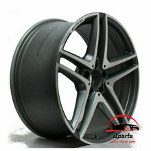 "Load image into Gallery viewer, MERCEDES E63 E63s 2014-2016 19"" FACTORY ORIGINAL REAR AMG WHEEL RIM"