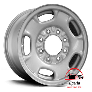 "CHEVROLET SILVERADO 2500 3500 PICKUP 2011-2014 17"" FACTORY OEM WHEEL RIM STEEL"