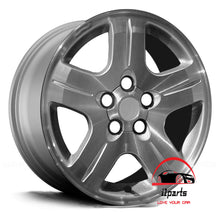 "Load image into Gallery viewer, CHEVROLET MALIBU 2004 2005 VIN Z 16"" FACTORY  ORIGINAL WHEEL RIM"