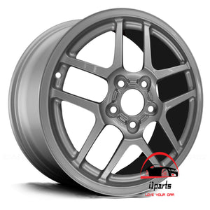 "CHEVROLET CORVETTE 2004 18"" FACTORY ORIGINAL REAR WHEEL RIM"