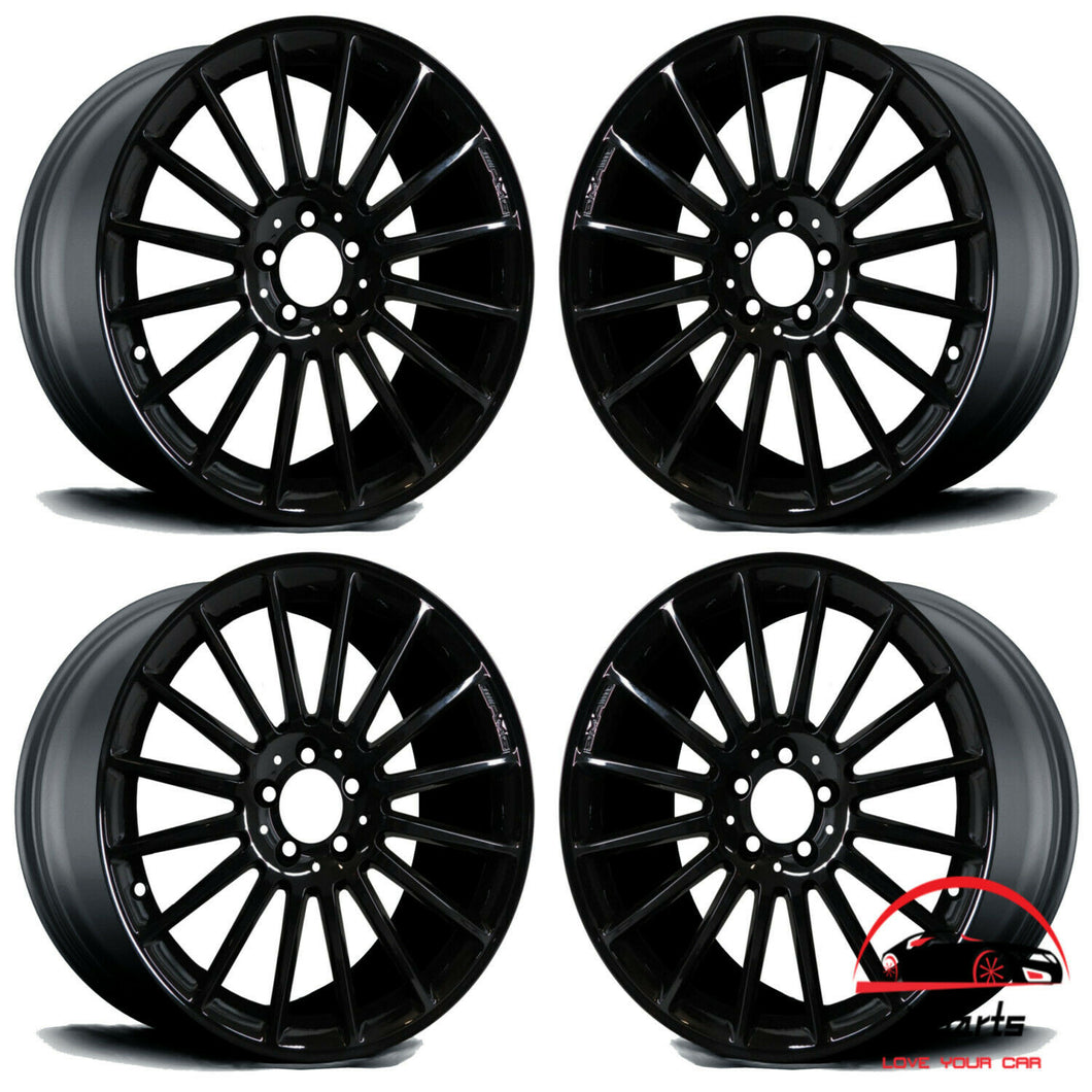 18 INCH ALLOY AMG RIMS WHEELS FACTORY OEM 65363-65364,  A1714011802-A1714011902
