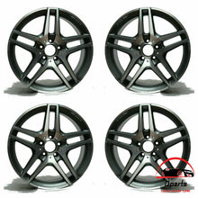 "Load image into Gallery viewer, SET OF 4 MERCEDES S400 S550 S600 2014-2018 19"" FACTORY OEM STAGGERED WHEELS RIMS"