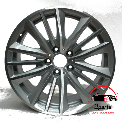 19 INCH ALLOY REAR RIM WHEEL FACTORY OEM 71421 36116791384; 6791384
