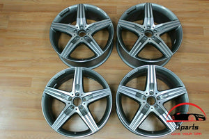 "SET OF 4 MERCEDES S63 2014-2017 20"" FACTORY OEM STAGGERED WHEELS RIMS"