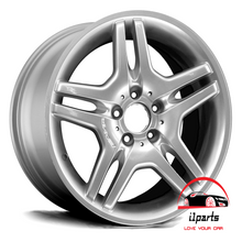 "Load image into Gallery viewer, MERCEDES SL550 SL600 2008 18"" RIM WHEEL FACTORY OEM AMG REAR"