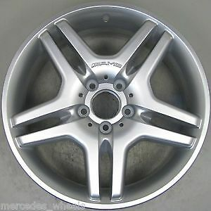 18 INCH ALLOY RIM WHEEL FACTORY OEM FRONT  65373 A2194011102