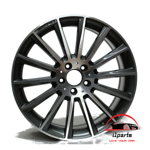 "SET OF 4 MERCEDES C450 C43 2016-2018 19"" FACTORY OEM STAGGERED WHEELS RIMS"