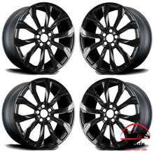"Load image into Gallery viewer, SET OF 4 AUDI A6 2012-2015 20"" FACTORY ORIGINAL WHEELS RIMS"