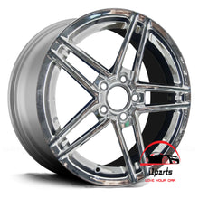 "Load image into Gallery viewer, CHEVROLET CORVETTE 2006 18"" FACTORY  ORIGINAL WHEEL RIM POLISHED"