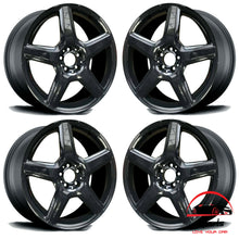 "Load image into Gallery viewer, SET OF 4 MERCEDES E350 E550 2008 2009 18"" FACTORY ORIGINAL STAGGERED WHEELS RIMS"
