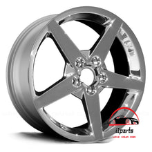 "Load image into Gallery viewer, CHEVROLET CORVETTE 2006-2007-2008 18"" FACTORY  ORIGINAL WHEEL RIM FRONT"