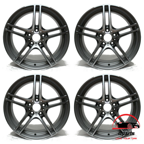 19 INCH ALLOY RIMS WHEELS FACTORY OEM 71390-71391, 36116787647-36116787648