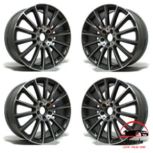 "Load image into Gallery viewer, SET OF 4 MERCEDES C450 C43 2016-2018 19"" FACTORY OEM STAGGERED WHEELS RIMS"