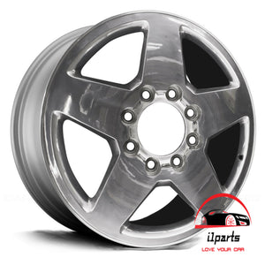 "CHEVROLET SILVERADO 2500 3500 PICKUP 2011-2019 20"" FACTORY ORIGINAL WHEEL RIM"