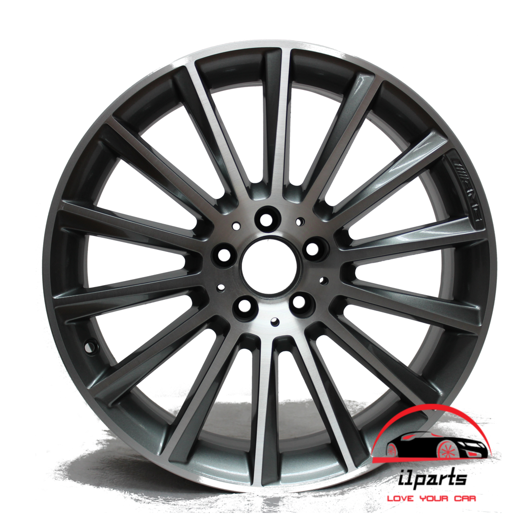 19 INCH ALLOY REAR AMG RIM WHEEL FACTORY OEM 85451 A2054016600