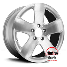"Load image into Gallery viewer, MERCEDES E350 E500 E550 2006 2007 17"" FACTORY ORIGINAL WHEEL RIM"