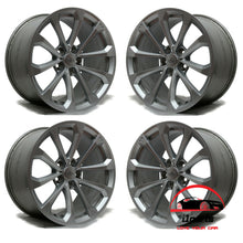 "Load image into Gallery viewer, SET OF 4 CADILLAC CTS-V 2016 2017 2018 2019 19"" FACTORY OEM STAGGERED WHEELS RIMS"