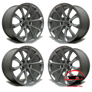 "SET OF 4 CADILLAC CTS-V 2016 2017 2018 2019 19"" FACTORY OEM STAGGERED WHEELS RIMS"