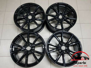 "SET OF 4 AUDI S4 2015 2016 19"" FACTORY ORIGINAL WHEELS RIMS"