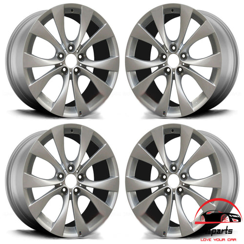 20 INCH ALLOY RIMS WHEELS FACTORY OEM 71224-71225, 36118037349; 36118037350; 8037349; 8037350