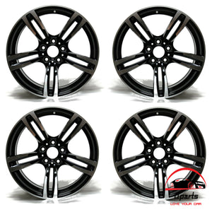 "SET OF 4 BMW M2 M3 M4 2015-2020 19"" FACTORY OEM STAGGERED WHEELS RIMS"