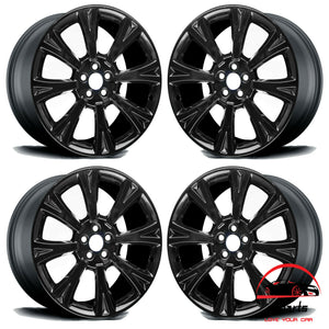 "SET OF 4 JAGUAR XJ XK 2010-2017 20"" FACTORY ORIGINAL STAGGERED WHEELS RIMS"