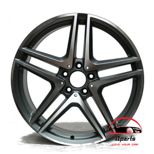 "MERCEDES E63 E63s 2014 2015 2016 19"" FACTORY ORIGINAL FRONT AMG WHEEL RIM"