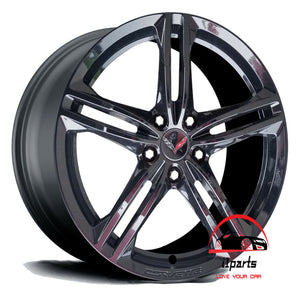 "CHEVROLET CORVETTE 2016 2017 2018 2019 19"" FACTORY ORIGINAL REAR WHEEL RIM"