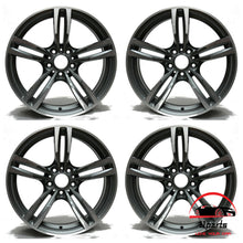 "Load image into Gallery viewer, SET OF 4 BMW M2 M3 M4 2015 2016 2017 2018 2019 19"" FACTORY OEM STAGGERED WHEELS RIMS"