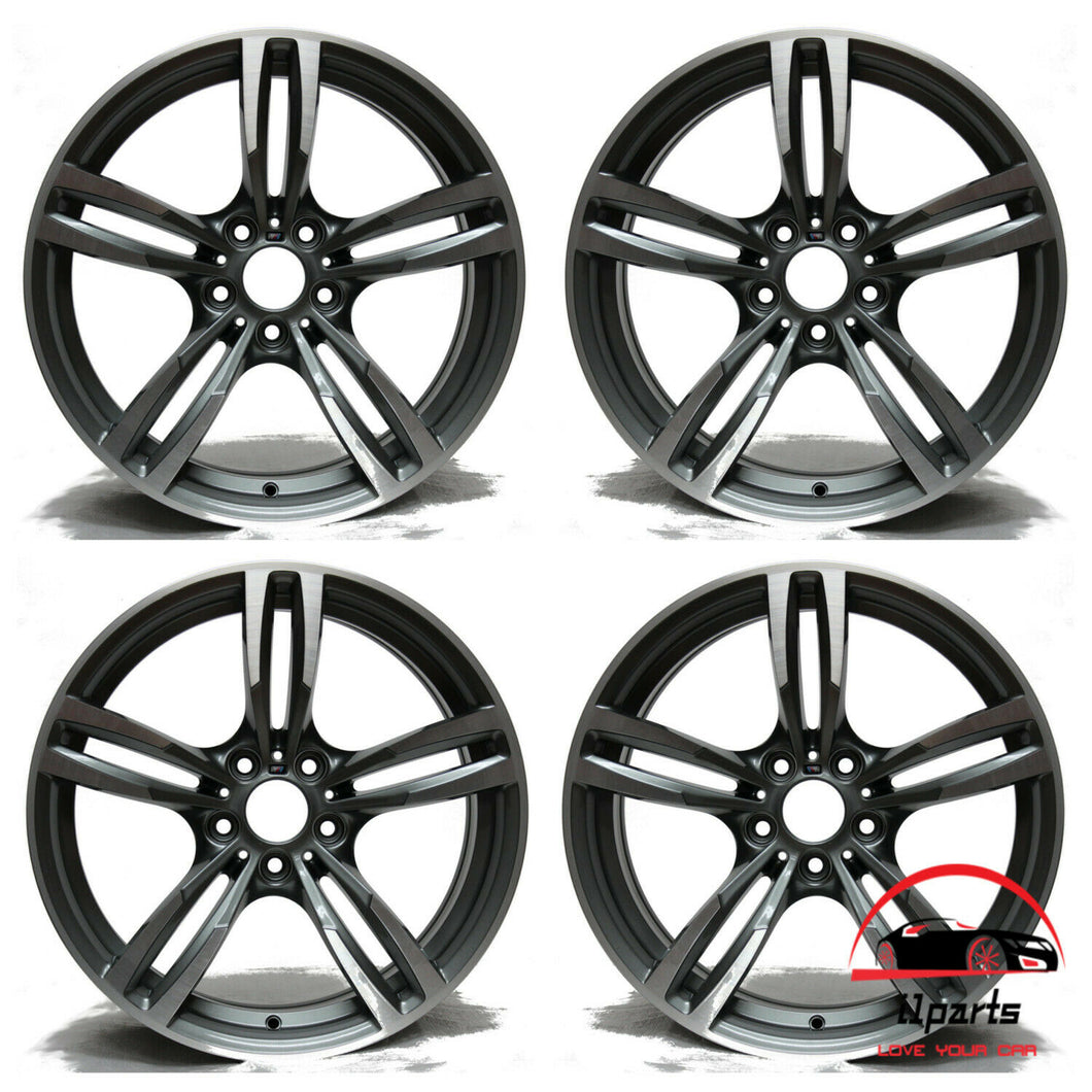 SET OF 4 BMW M2 M3 M4 2015 2016 2017 2018 2019 19