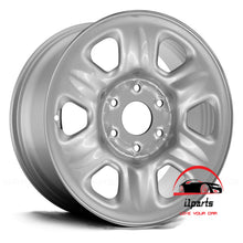 "Load image into Gallery viewer, NISSAN TITAN 2004 2005 2006 2007 17"" FACTORY ORIGINAL WHEEL RIM STEEL"