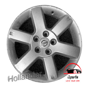 "NISSAN X-TRAIL 2006 17"" FACTORY ORIGINAL WHEEL RIM"